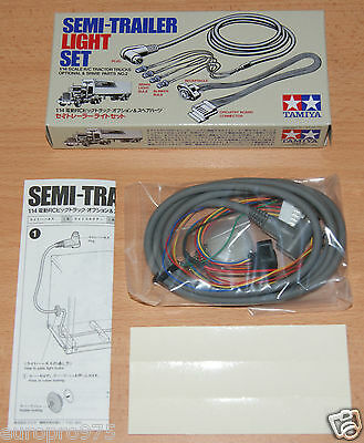 Tamiya 56502 Tractor Truck Semi-Trailer Light Set (Flatbed/Box/Container/Reefer) • 43.49£