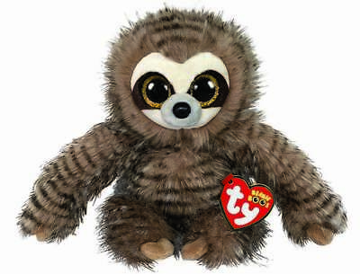 Official Ty Beanie Boo Babies Sully Sloth Plush Soft Toy New With Tags • 8.95£