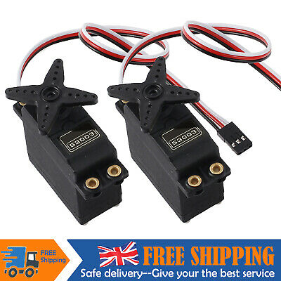 2pcs S3003 Standard Servo High Torque For RC Racing Car Plane Helicopter Boat Uk • 9.99£