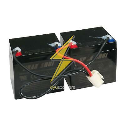 Razor E100 E100S 2 X 4.5Ah  24 Volt Battery Pack With Reset Connecter Wires • 48.95£