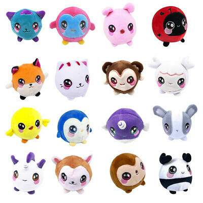JOB LOT OF 50 X ASSORTED 10 Cm Super Soft Plush Toys SQUEEZIES • 35£