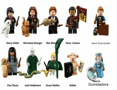 Harry Potter Mini Figure Fantastic Beasts Dumbledore Dobby Custom Minifigures • 8.49£