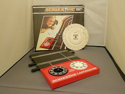 Scalextric Vintage Lap Counter Boxed With Speed Disc • 12£