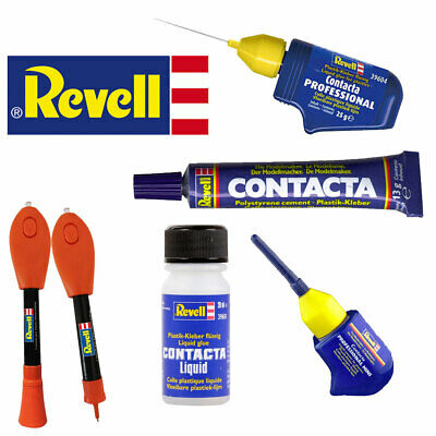 REVELL Contacta Professional Liquid Model Glue Cement For Model Kits Airfix • 5.95£