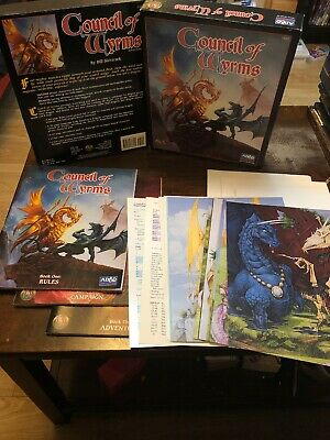 Council Of Wyrms - Boxed Set - Ad&d 2nd Edition Dungeons And Dragons • 39.99£