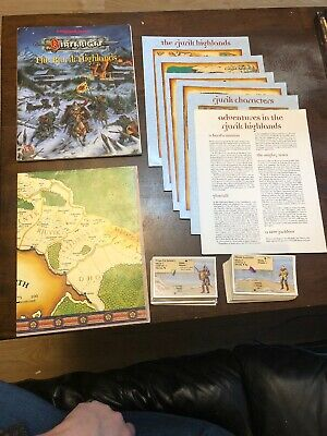 The Rjurik Highlands - Birthright - Ad&d 2nd Edition Dungeons And Dragons Tsr • 49.99£