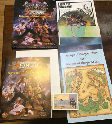 Havens Of The Great Bay - Birthright - Ad&d 2nd Edition Dungeons And Dragons Tsr • 69.99£