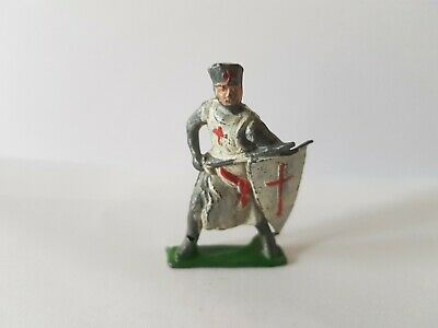 Vintage Cherilea Crusader Medieval Figure In Hollow Cast Lead • 29.07£