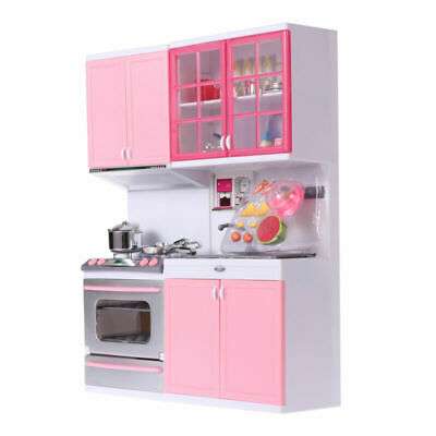 Children Kid Kitchen Toy Role Play Pretend Set Housework Cooker Girls Boy Gift • 20.89£