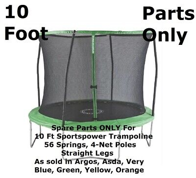 IN STOCK PARTS For ASDA Sportspower 10 Ft Trampoline Green,  Argos, Very • 37.99£