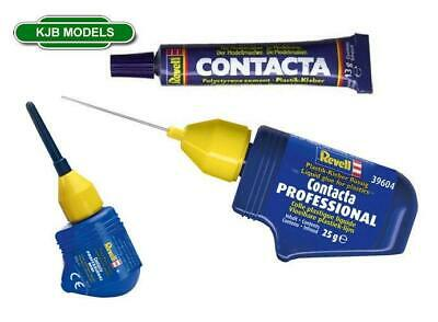 Revell Contacta Polystyrene Cement. Choice Of 3 Glues. Tube / Needle • 5.95£