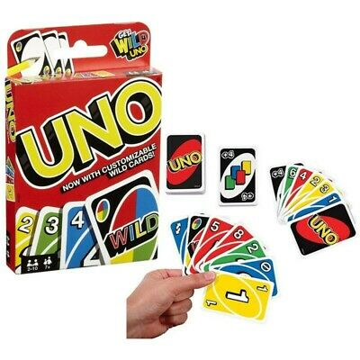 UNO Card Game 108 CARDS Great Fun Children Friend Family Party Travel UK Seller • 3.94£