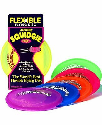 Aerobie Squidgie 8  Frisbee Flying Disc Outdoor Toy • 8.85£