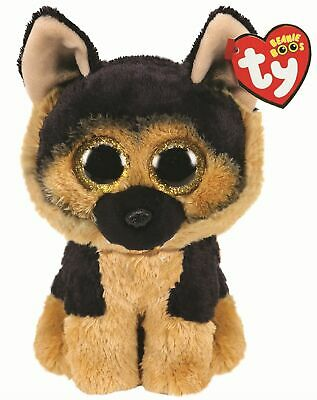 Official Ty Beanie Babies Boos Spirit German Shepard Plush Soft Toy New With Tag • 7.95£