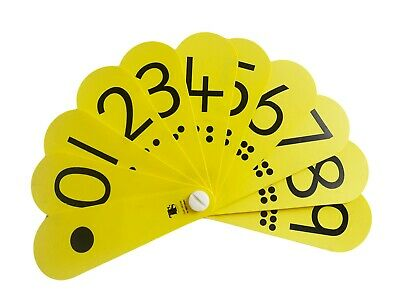Numbers 0-9 Fun Number Fan • 2.65£