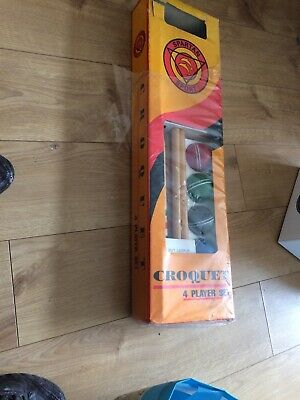4 Player Croquet Set - Brand New Boxed • 40£