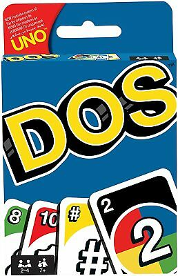 DOS UNO DOS Card Game 108 CARDS Great Fun Children Friend Family Party Travel UK • 2.48£
