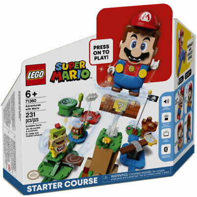 LEGO Super Mario Adventures With Mario Starter Course 71360 231pcs PRE-ORDER • 49.95£