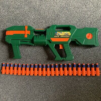 Buzzy Bee Belt Blaster Toy Gun Rifle Complete With Shells & Darts Pump Action • 12.99£