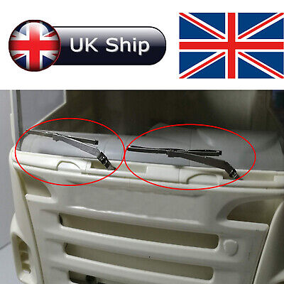 Metal Electric Wiper Windscreen Wiper For 1/14 RC Tamiya Tractor 56323 Scania RC • 31.53£