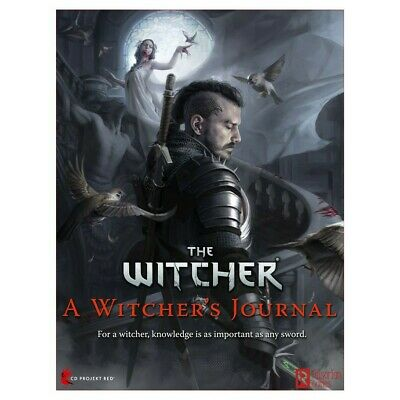 The Witcher RPG A Witcher's Journal Role Playing Game Book Pre Order July 2020 • 23.95£