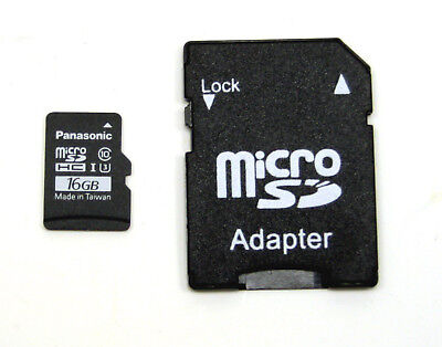 Yuneec YUN-0072 Micro SD Card 16 GB With Adapter • 2.88£