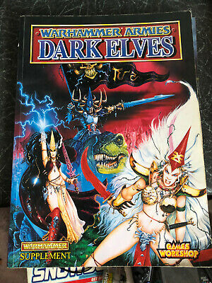 Warhammer Armies Dark Elves Rule Book • 14.99£