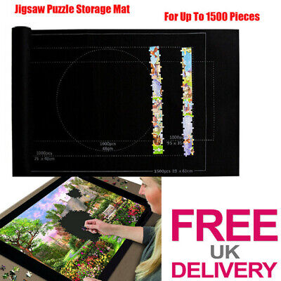 Puzzle Mates Jigsaw Puzzle Board Storage Mat Case- For Up To 1500 Piece Jigsaws • 4.49£