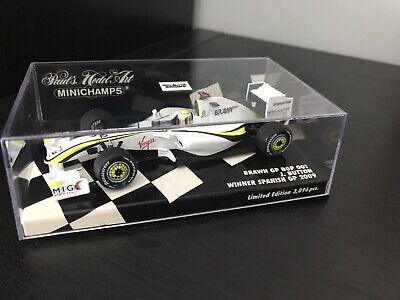 Minichamps Jenson Button Brawn GP 001 Spanish GP Winner 2009 1:43 • 49.99£