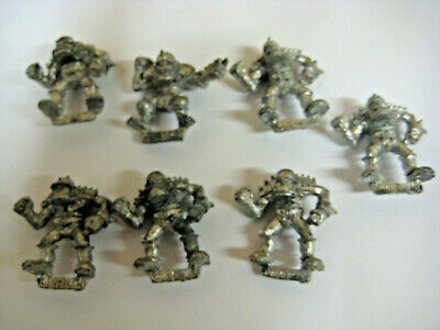 Bloodbowl Metal First Edition Orc Players X7 • 17£