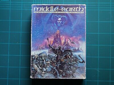 Middle Earth Role-Playing (MERP), Games Workshop Boxed Set • 24£