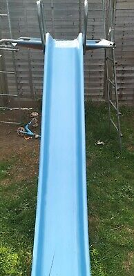 TP Slide With Safety Handles Attachs To TP Climbing Frame 1.9m • 50£
