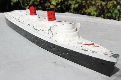 TRIANG MINIC SHIPS M702 QUEEN ELIZABETH  Good Condition 1950s   • 11.99£