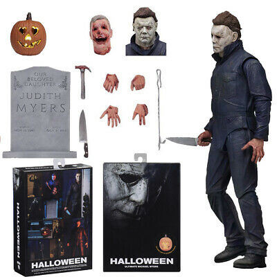 NECA Classic Halloween Michael Myers Ultimate 7  Action Figure 1:12 Statue Model • 26.99£
