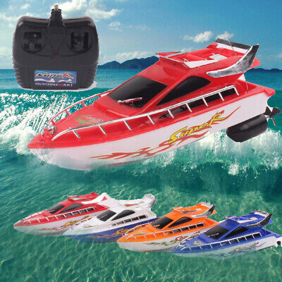 Wireless Remote Control Electric RC Boat High Speed Racing Outdoor Toy Adults • 12.77£