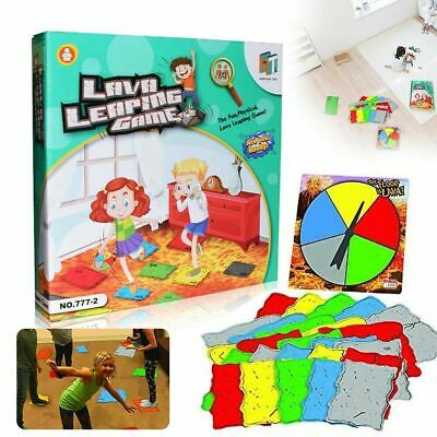 The Floor Is Lava! (Ages 5+) Fun Interactive Board Game For Kids And Adult UK • 11£