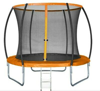 10ft Trampoline Sportspower Outdoor Includes Rain Cover Ladder Anchor Kit • 99£