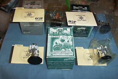 Wizkids Mech Warriors 2 Named Boxed And 2 Named Unboxed With Dossiers • 8.99£