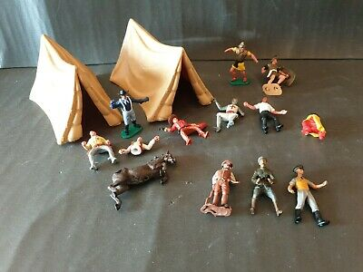 TIMPO US Cavalry  2 X Tents + Cowboys + Romans + WW1 Or 2 Others. Mixed Bundle.  • 24.99£