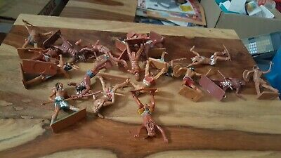Cherilea American Indians Toy Soldiers. • 3£