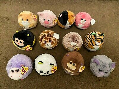 TY BEANIE BALLZ BUNDLE Of 12 - EXCELLENT CONDITION ALL WITH TAGS! • 1.99£