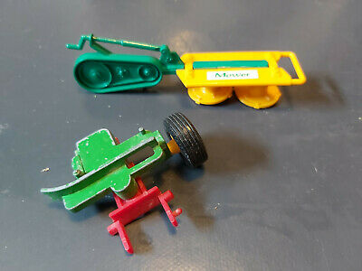 Britains Vintage Mower And Extra Part • 1.99£