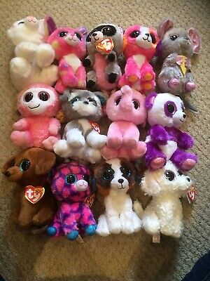 TY Beanie Boo Bundle / Job Lot X 13 Good Condition With Tags • 28£