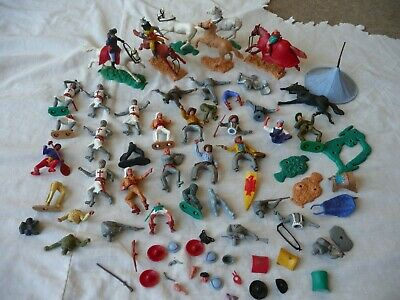 Timpo Joblot/Bundle Of Spares/Repairs - All Sorts Including Weapons Etc • 16.55£