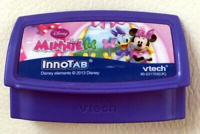 VTech InnoTab Tablet 1 2 3 3s Max DISNEY MINNIE MOUSE Learning Game Cartridge • 3.99£