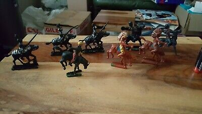 Crescent Soldiers On Horseback, Cavalry Toy Soldiers. • 2£