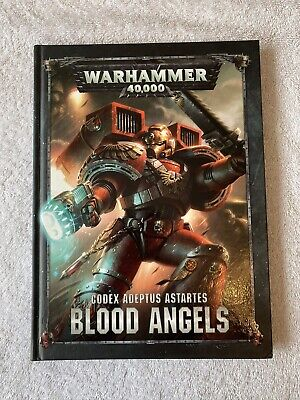 WARHAMMER 40K BLOOD ANGELS CODEX 8TH EDITION Good Condition • 13.50£