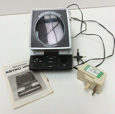 Vintage Grandstand  Astro Wars 1981 Electronic Game Preowned (901D68) • 21£