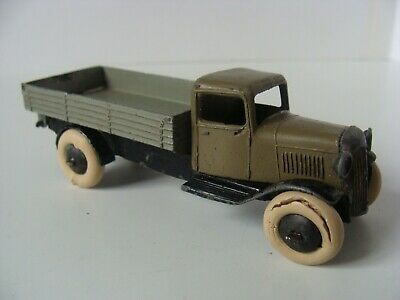 DINKY TOYS TIPPING WAGON No 25E - SMOOTH HUBS/OPEN CHASSIS • 1.04£