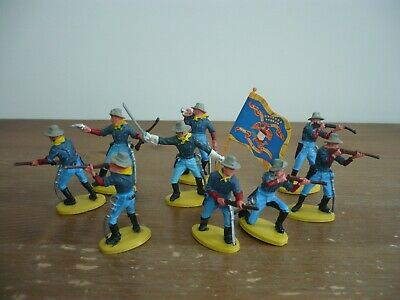 Britains Herald 9  Us / 7th Cavarly Soldiers On Foot  • 30£